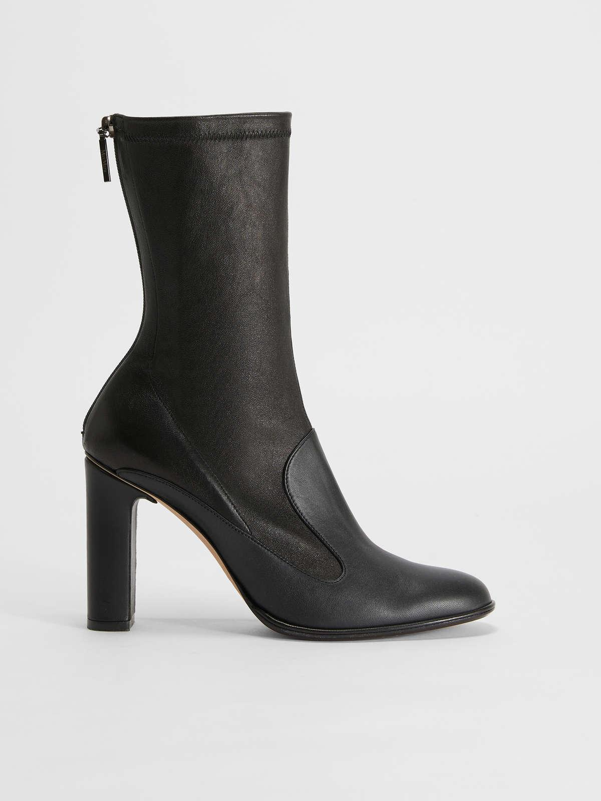 Womens Max Mara Ankle Boots And Boots | Nappa Leather Ankle Boots Black