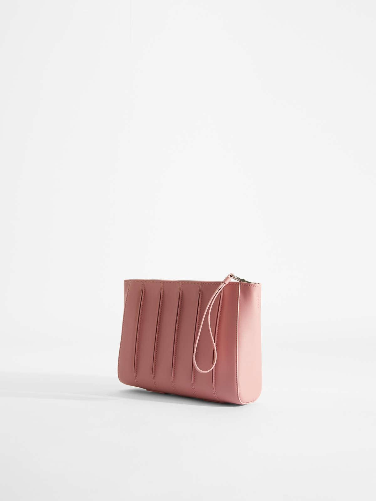 Womens Max Mara Clutch Bags | Whitney Bag Clutch In Smooth Leather Antique Rose