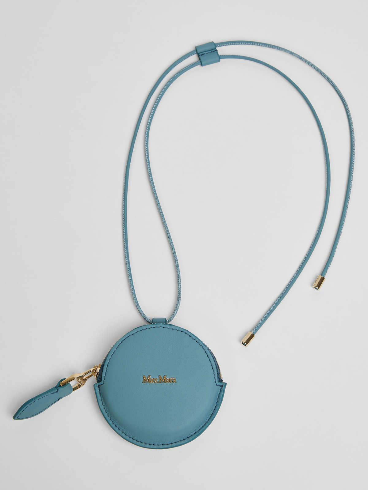 Womens Max Mara Cover And Coin Purse | Leather Coin Purse Light Blue