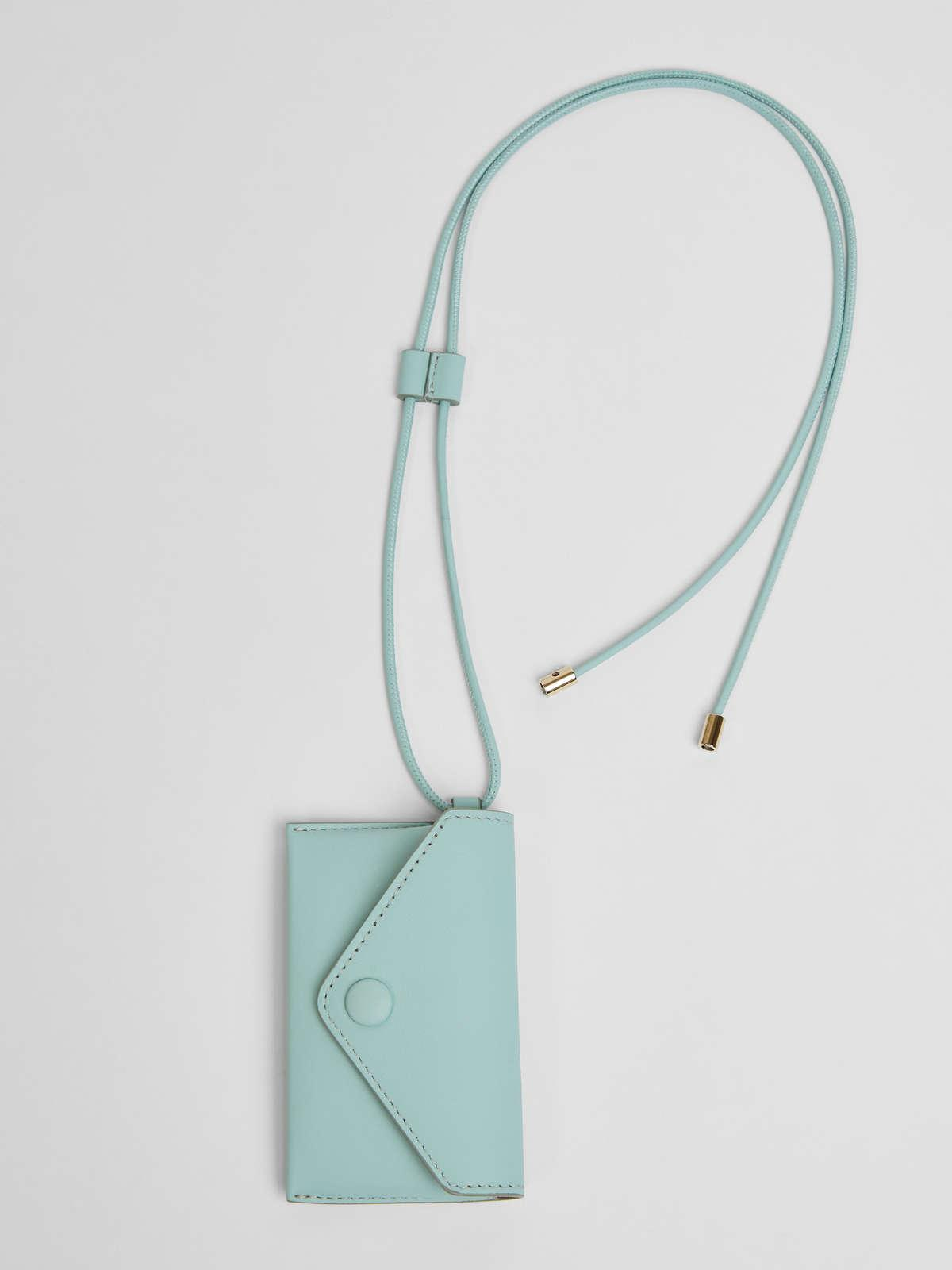 Womens Max Mara Cover And Coin Purse | Long Necklace With Clutch Bag Water