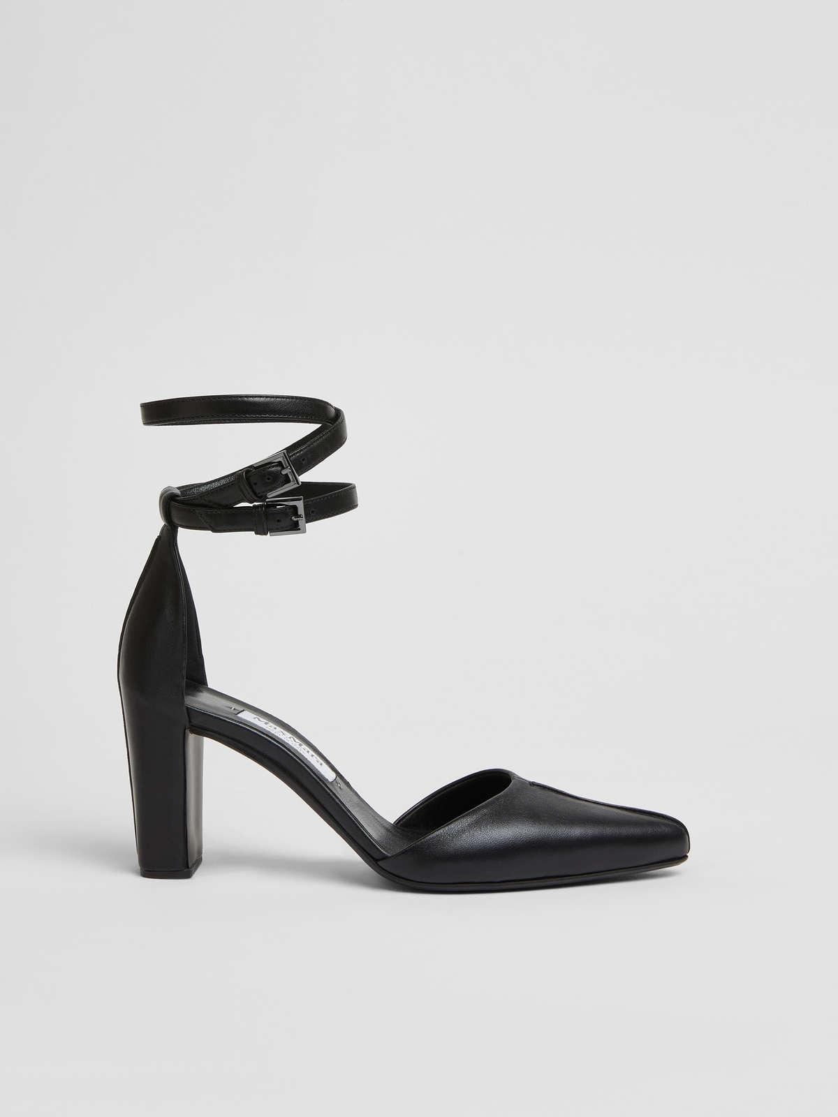 Womens Max Mara Décolleté | Court Shoes In Nappa Leather Black