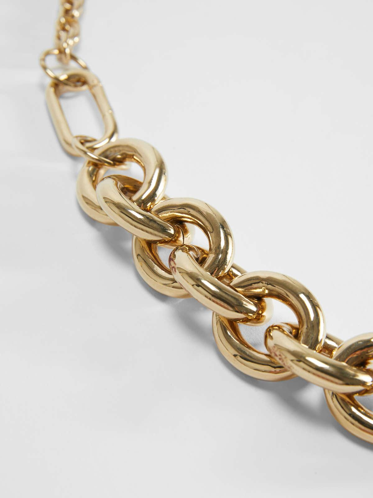 Womens Max Mara Jewelry   Chain Necklace Gold