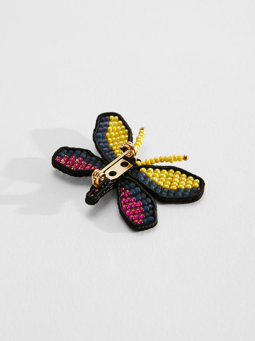Womens Max Mara Jewelry | Set Of Butterfly Brooches Multicolour