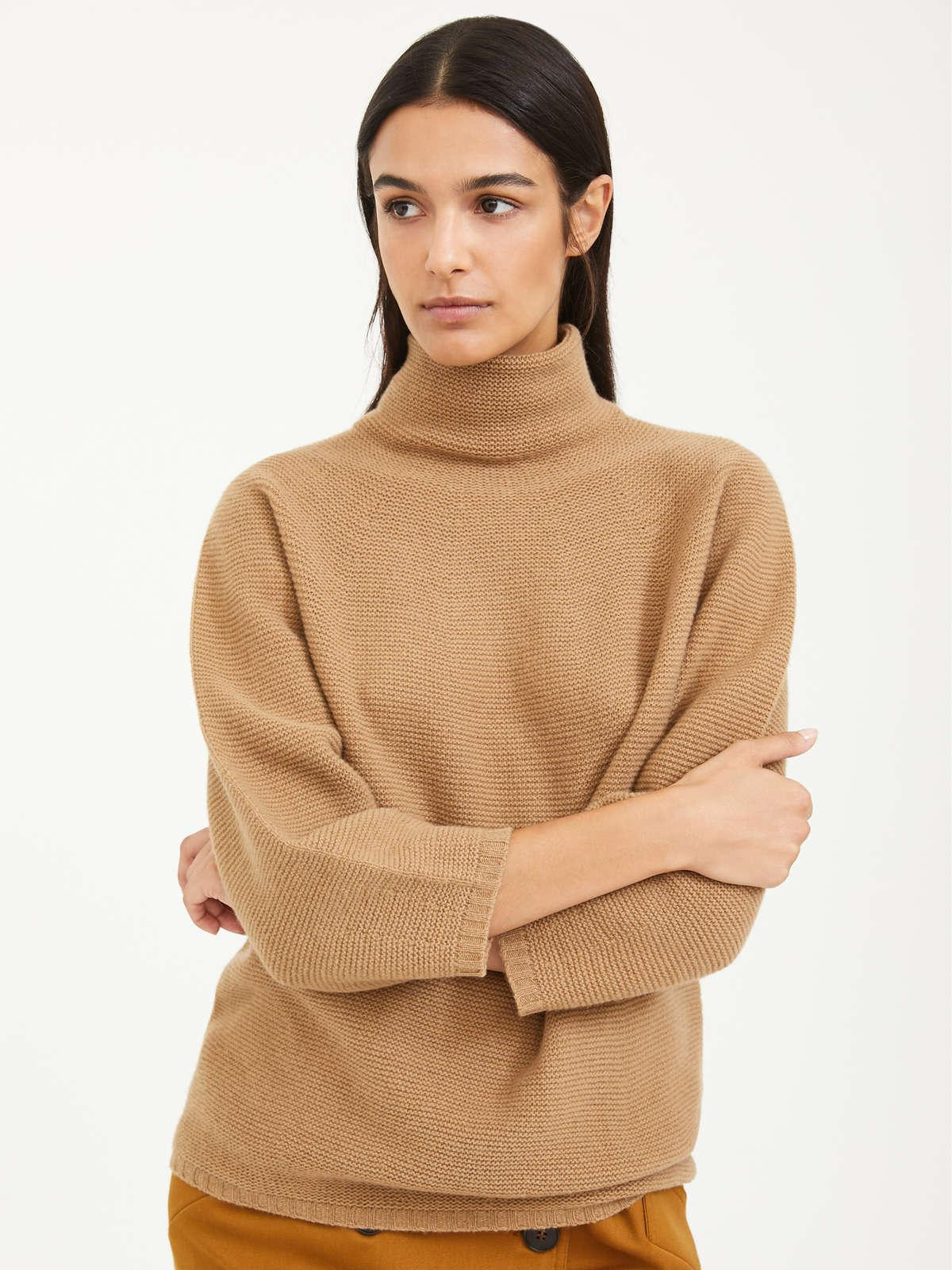 Womens Max Mara Knitwear   Wool And Cashmere Sweater Camel