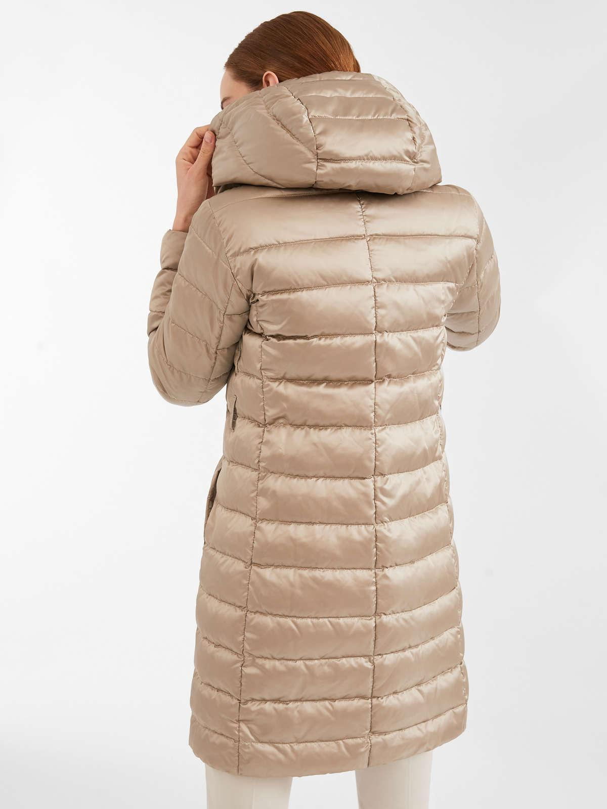 Womens Max Mara Padded Coats | Reversible Down Jacket In Water-Resistant Satin Ice