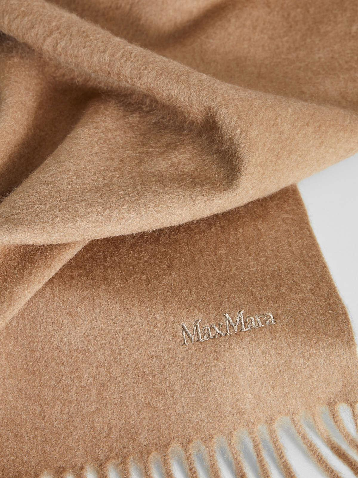 Womens Max Mara Scarves And Foulards   Camel Stole Camel