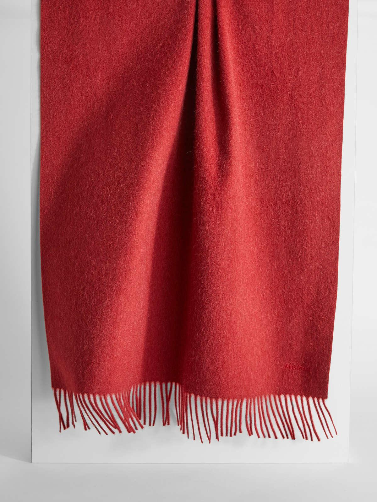 Womens Max Mara Scarves And Foulards | Camel Stole Red
