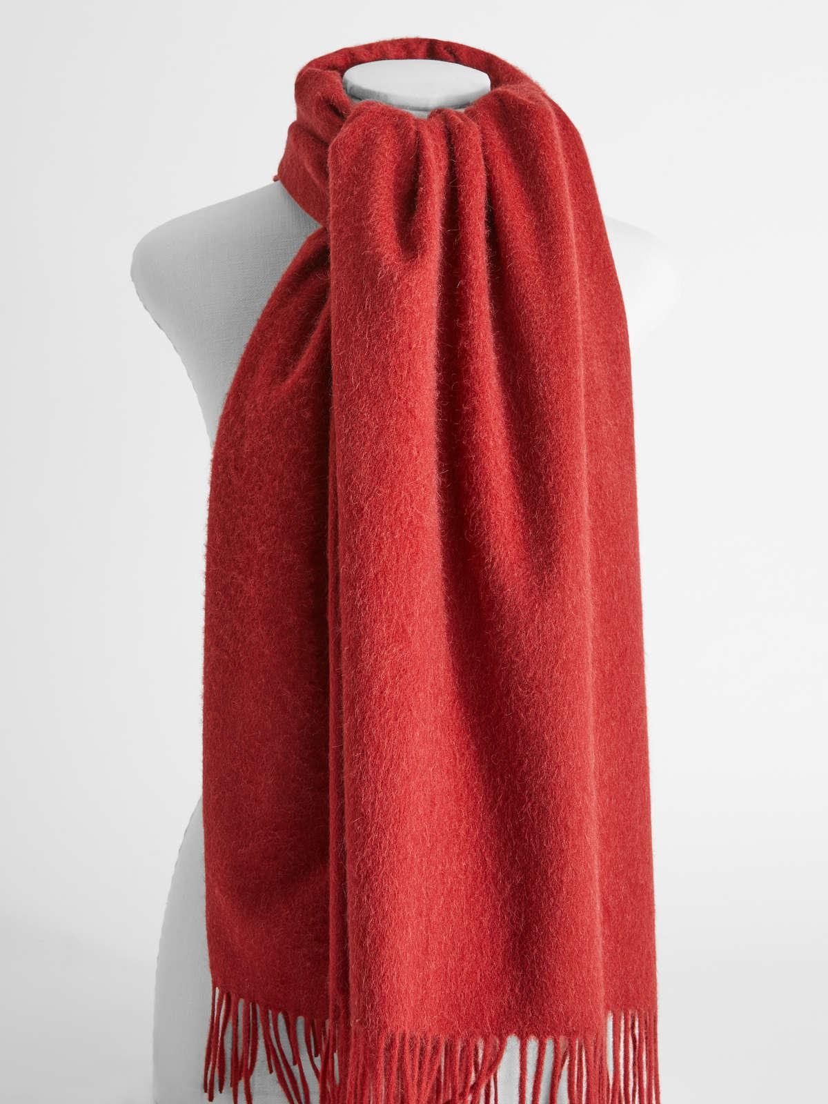 Womens Max Mara Scarves And Foulards   Camel Stole Red