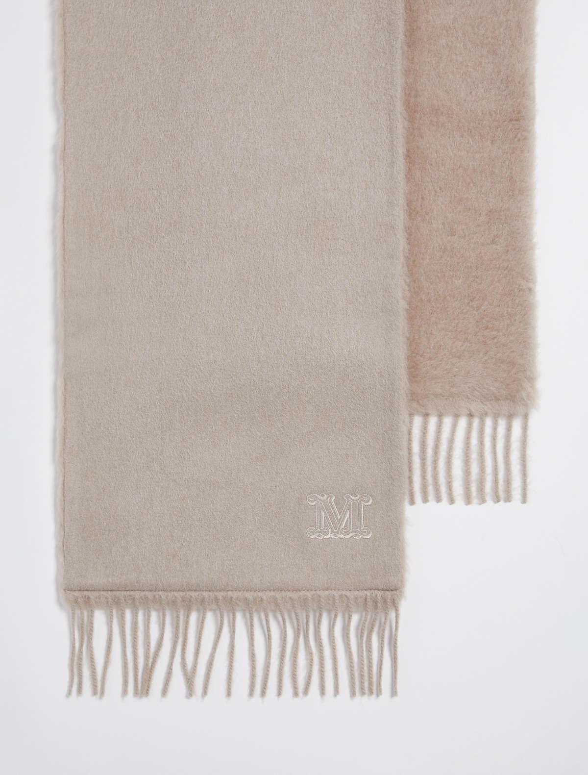 Womens Max Mara Scarves And Foulards   Camel Stole Turtledove