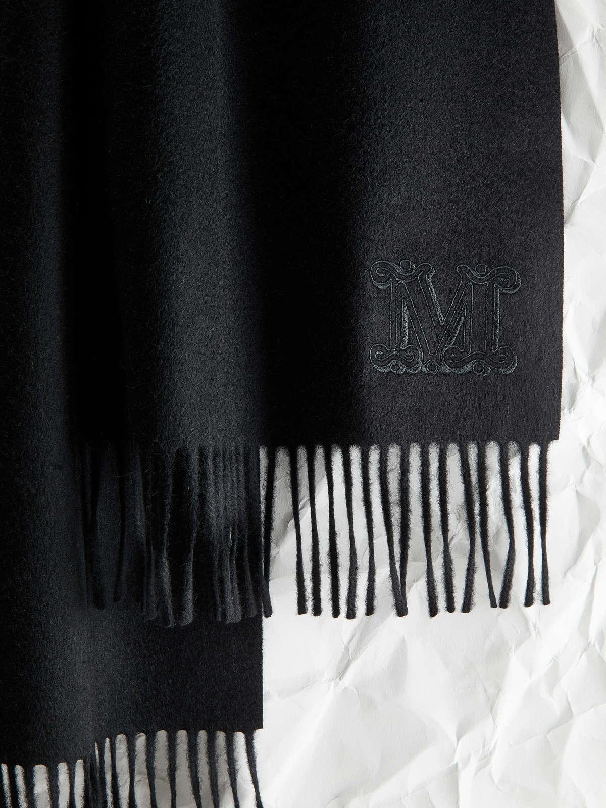 Womens Max Mara Scarves And Foulards   Cashmere Scarf Black