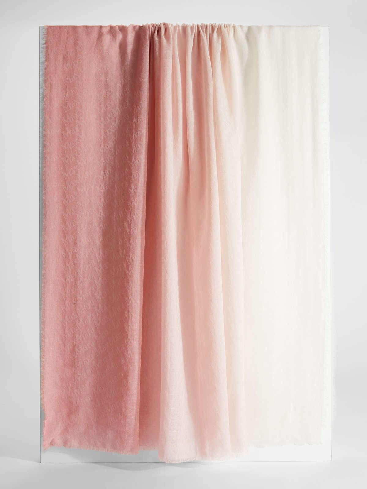 Womens Max Mara Scarves And Foulards   Silk And Cotton Stole Pink