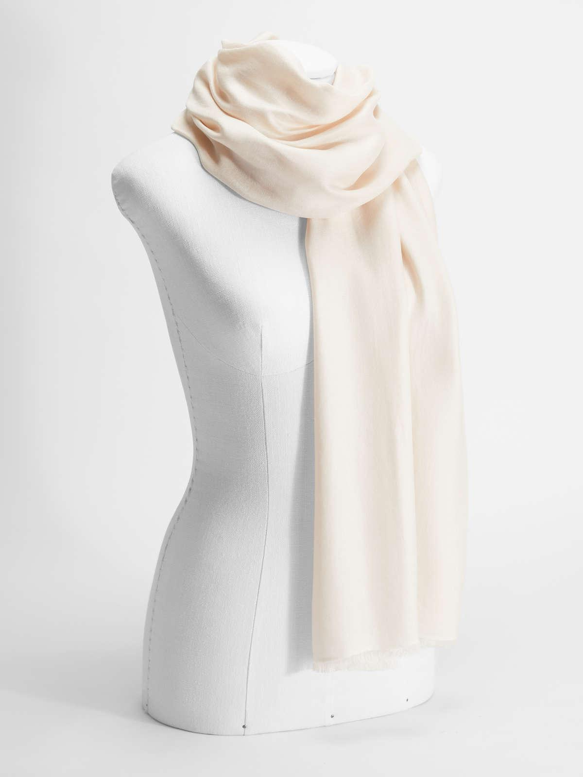 Womens Max Mara Scarves And Foulards | Silk Stole Pink