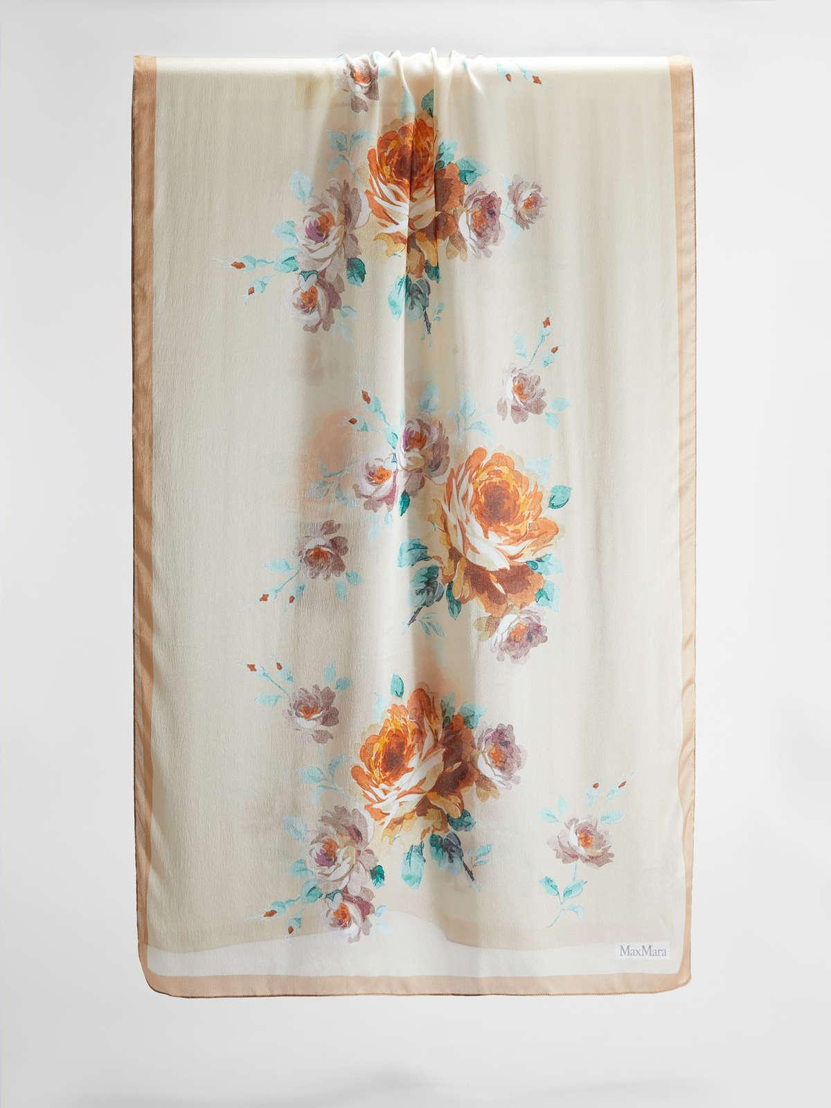 Womens Max Mara Scarves And Foulards   Silk Stole Sand