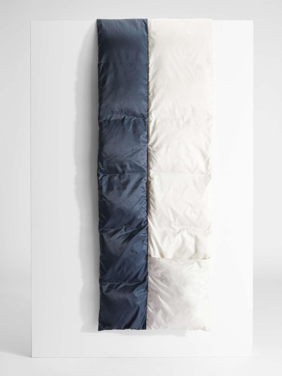 Womens Max Mara Scarves And Foulards   Water-Repellent Technical Canvas Scarf Ice