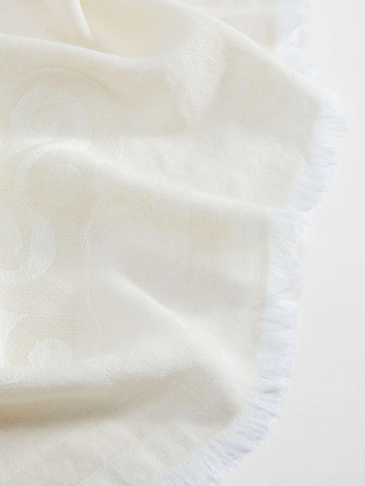 Womens Max Mara Scarves And Foulards | Wool And Silk Stole Sand