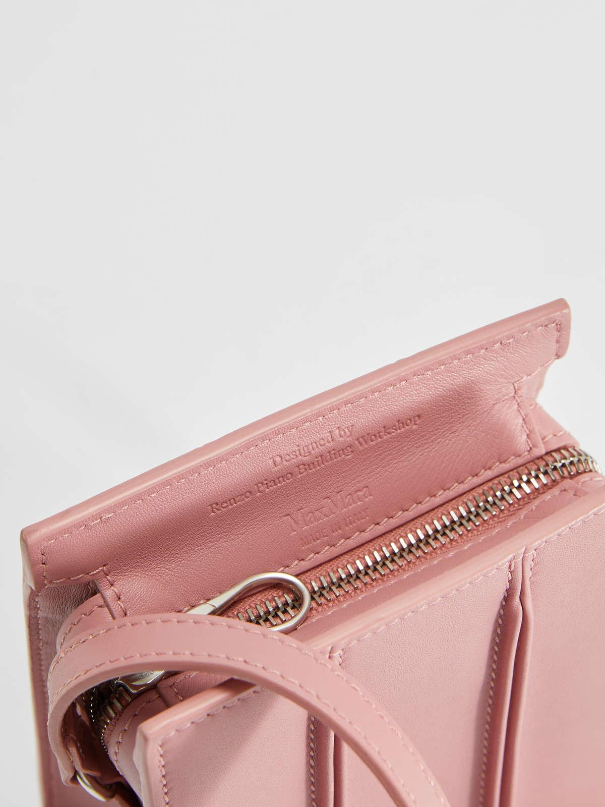 Womens Max Mara Shoulder Bags | Mini Whitney Bag In Leather Antique Rose