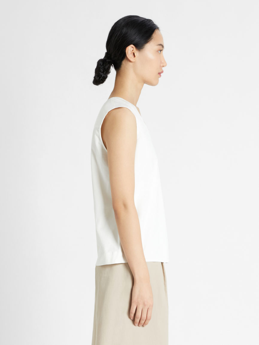 Womens Max Mara Tops And T-Shirts   Cotton And Jersey Top White