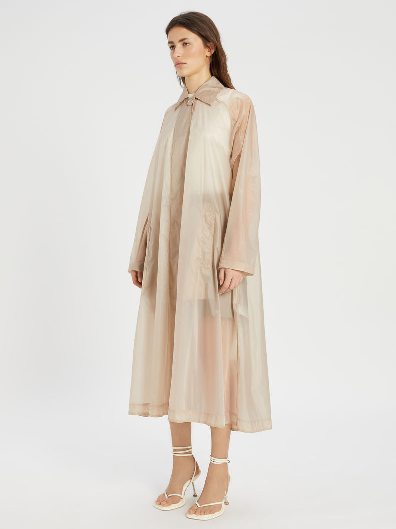 Womens Max Mara Trench   Wide Water-Resistant Trench Coat Sand