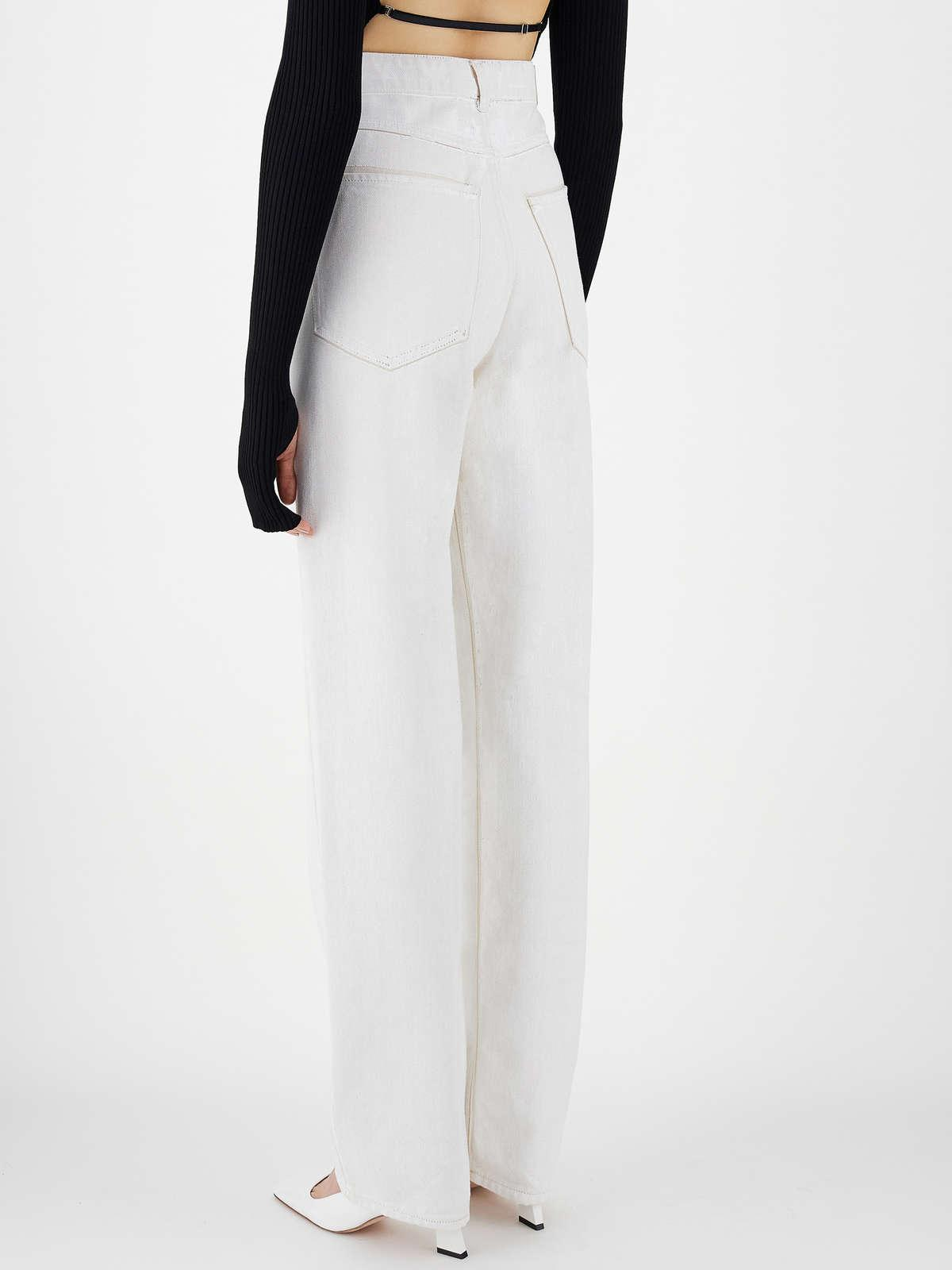 Womens Max Mara Trousers And Jeans   5-Pocket Jeans White