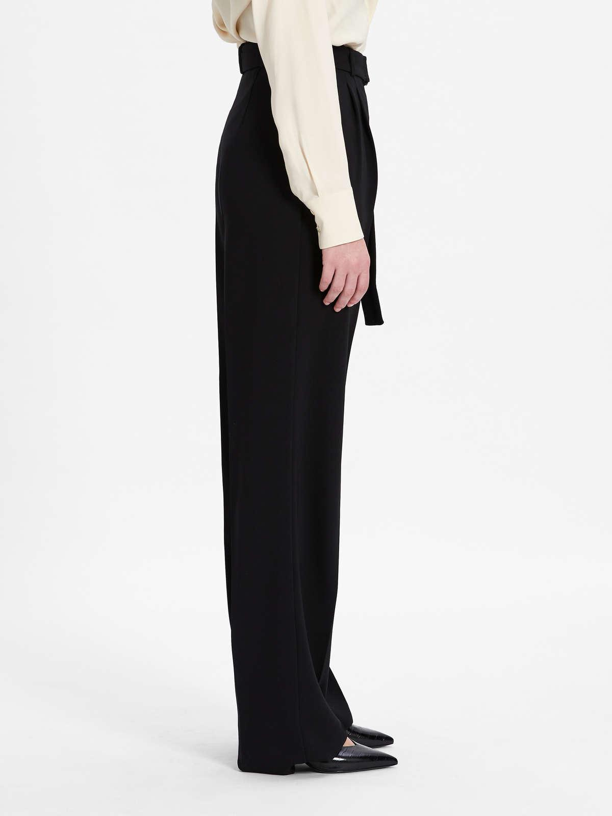 Womens Max Mara Trousers And Jeans   Cady Trousers Black