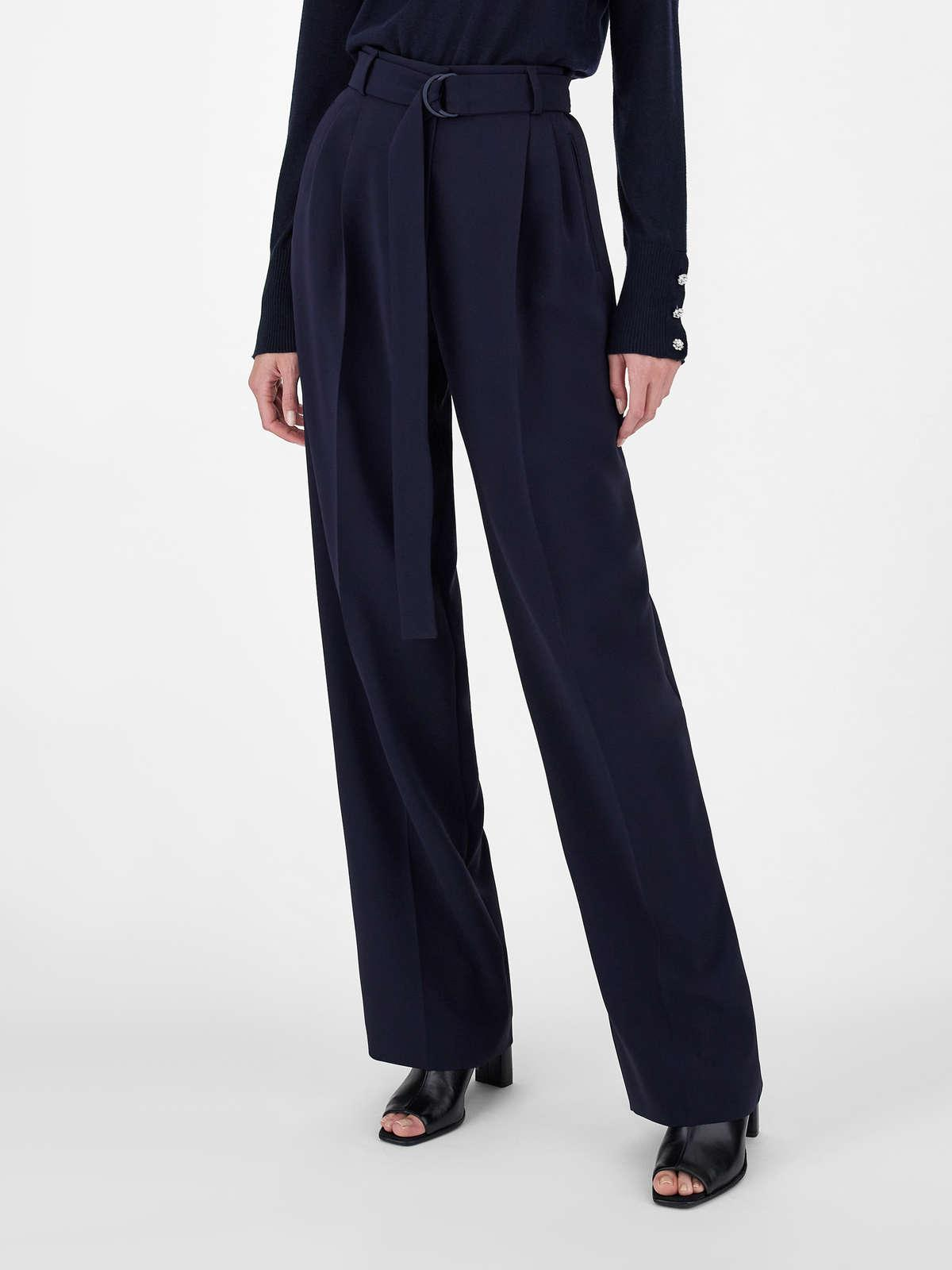 Womens Max Mara Trousers And Jeans | Cady Trousers Navy