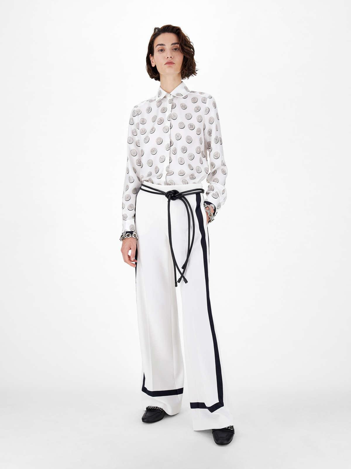 Womens Max Mara Trousers And Jeans | Cady Trousers Silk