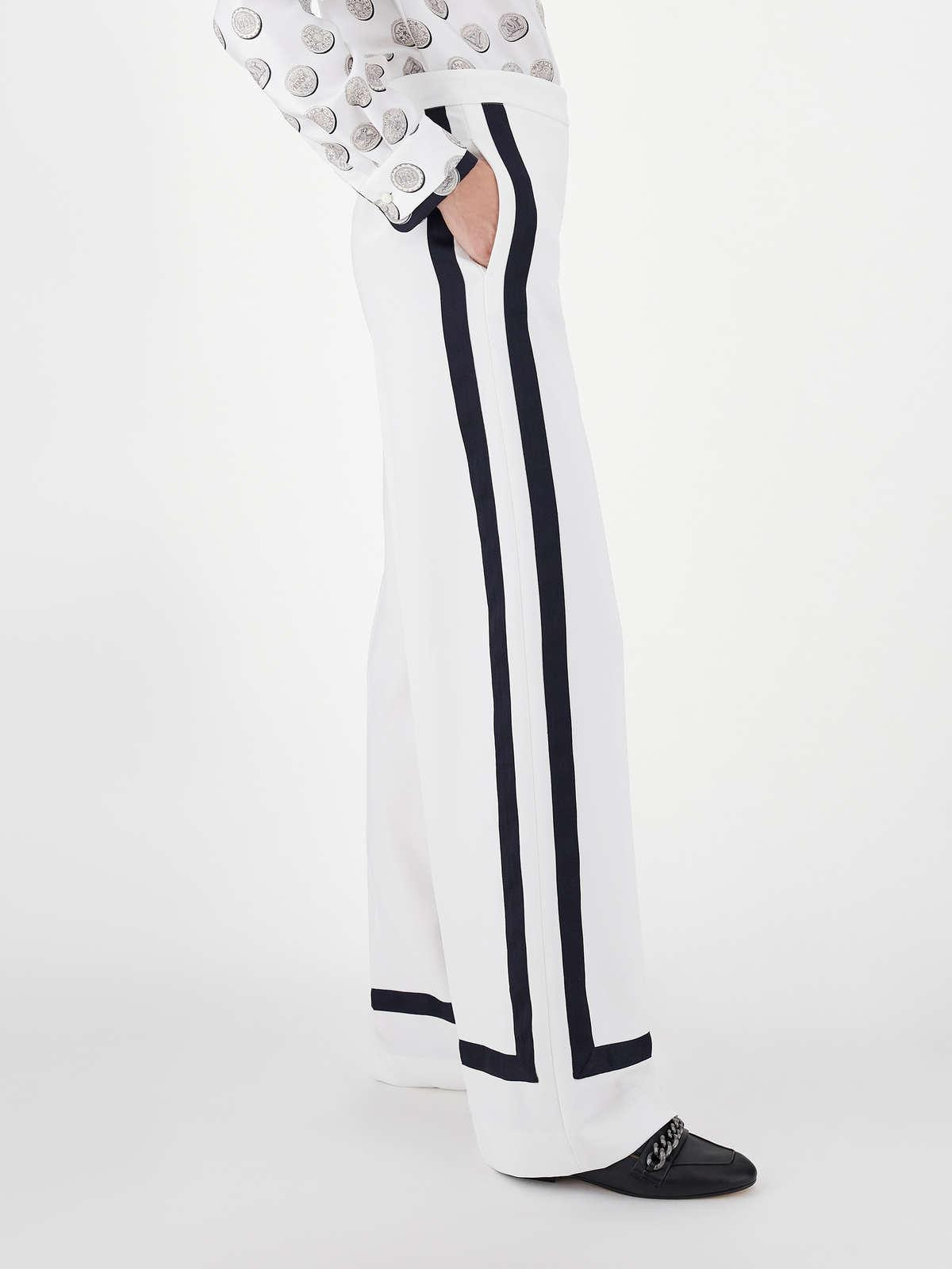 Womens Max Mara Trousers And Jeans   Cady Trousers Silk
