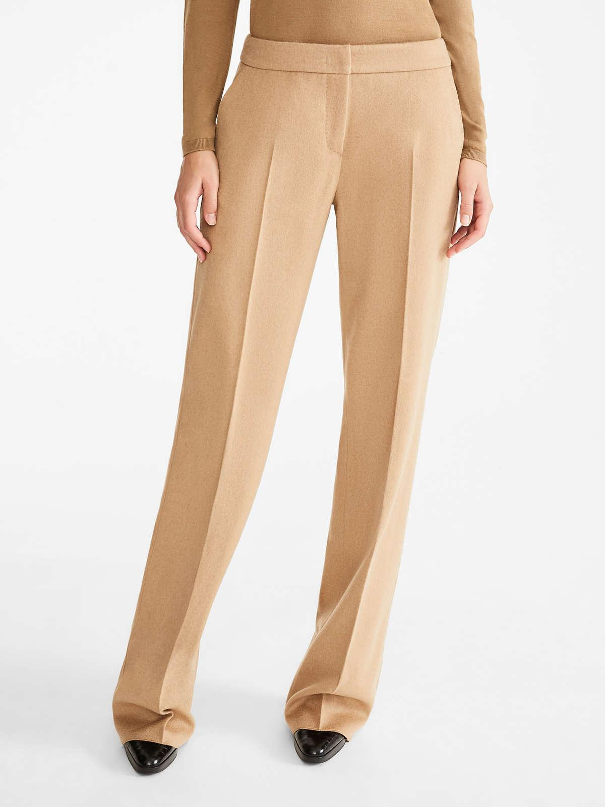 Womens Max Mara Trousers And Jeans | Camel Trousers Camel