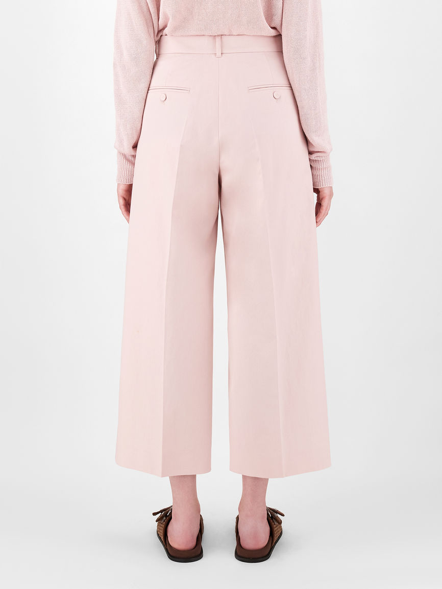 Womens Max Mara Trousers And Jeans   Cotton And Linen Trousers Pink