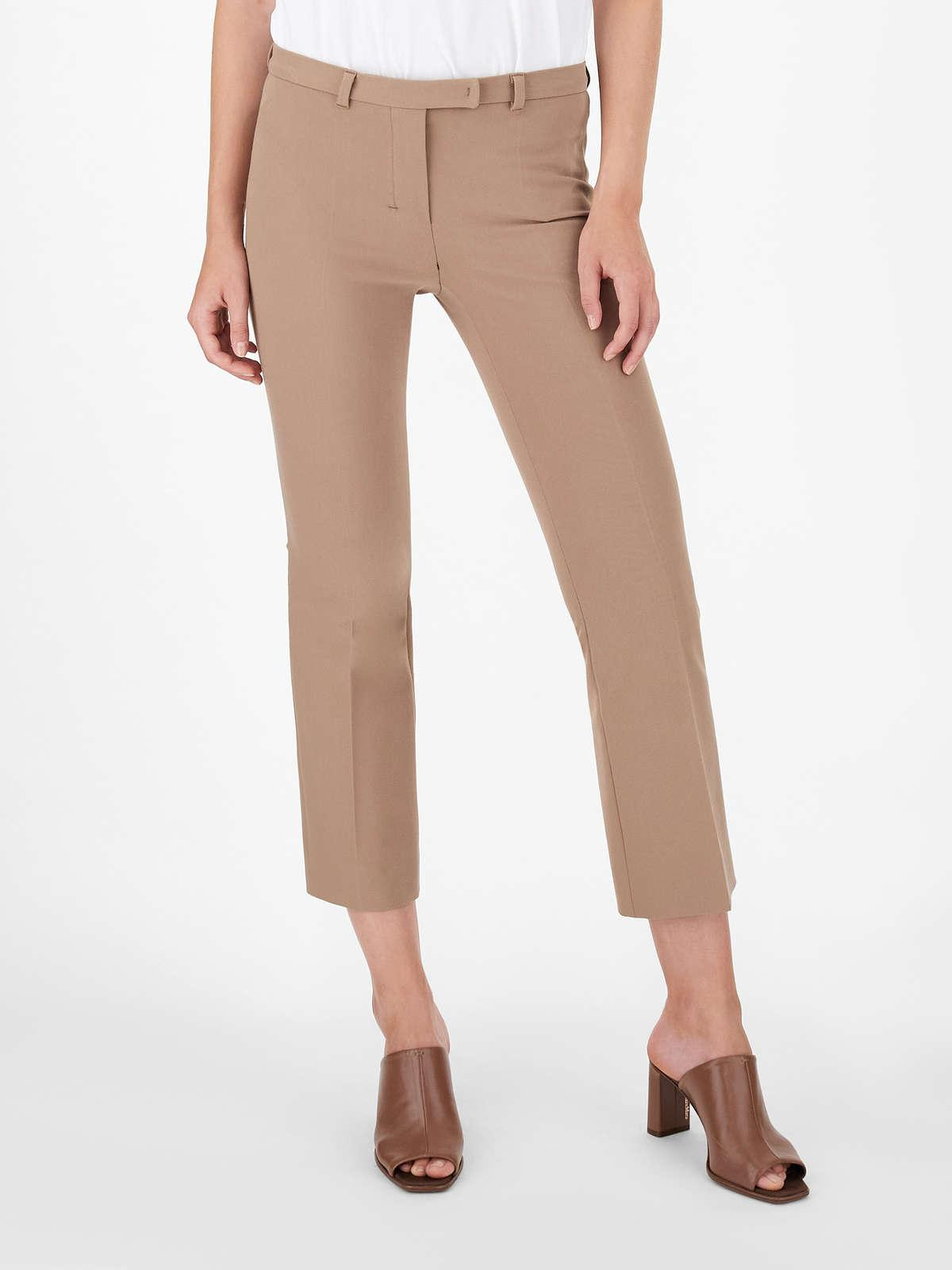 Womens Max Mara Trousers And Jeans | Cotton And Viscose Trousers Camel