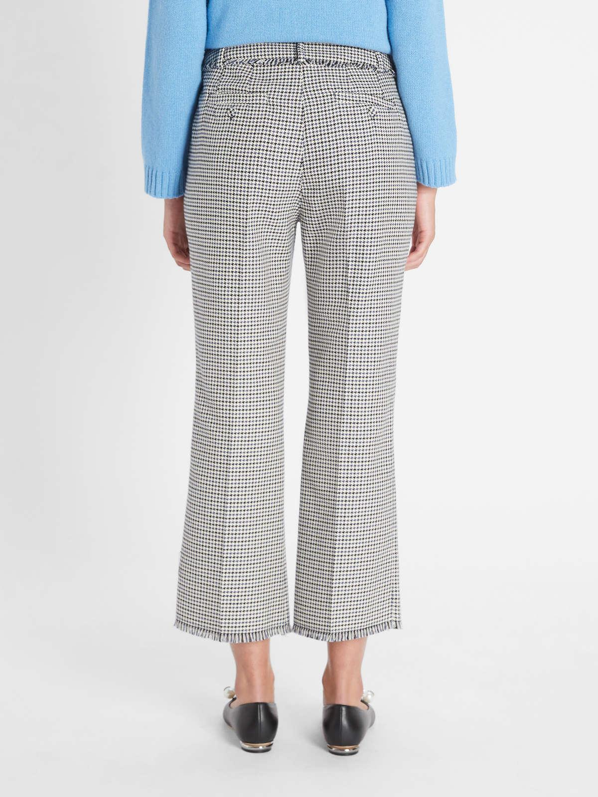 Womens Max Mara Trousers And Jeans   Cotton Cordonnet Trousers Navy