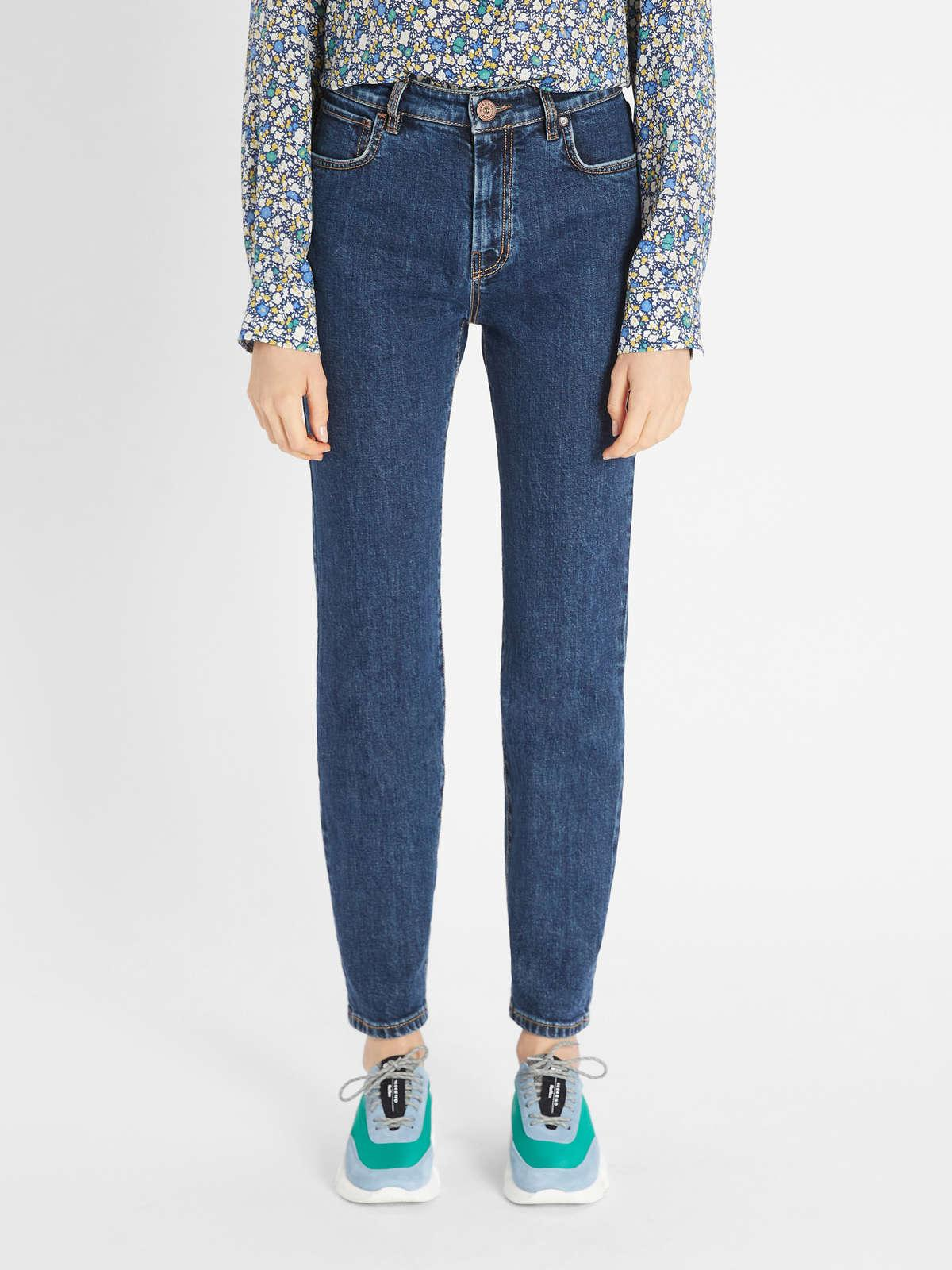 Womens Max Mara Trousers And Jeans   Denim Trousers Navy
