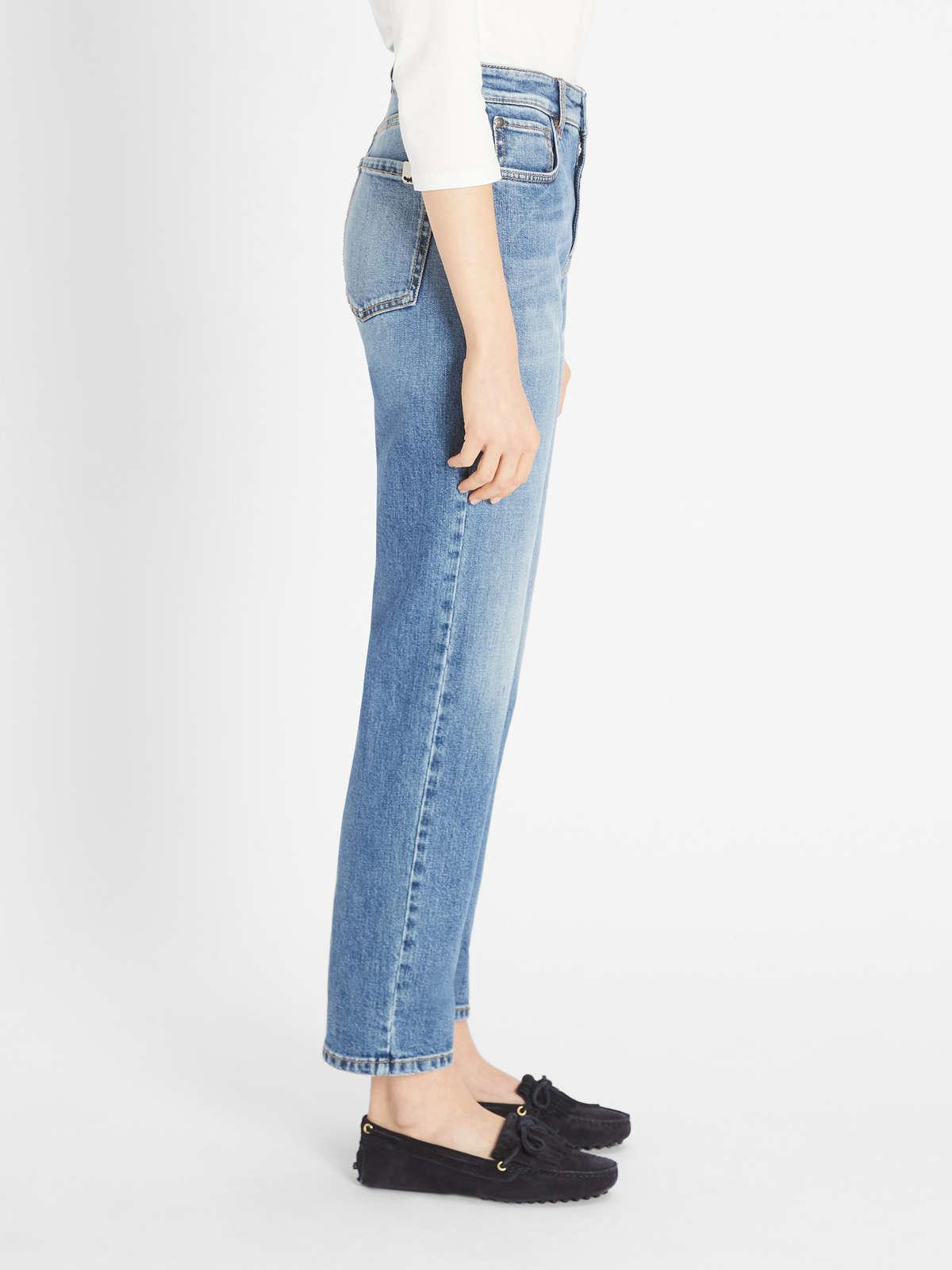 Womens Max Mara Trousers And Jeans | Denim Trousers Navy