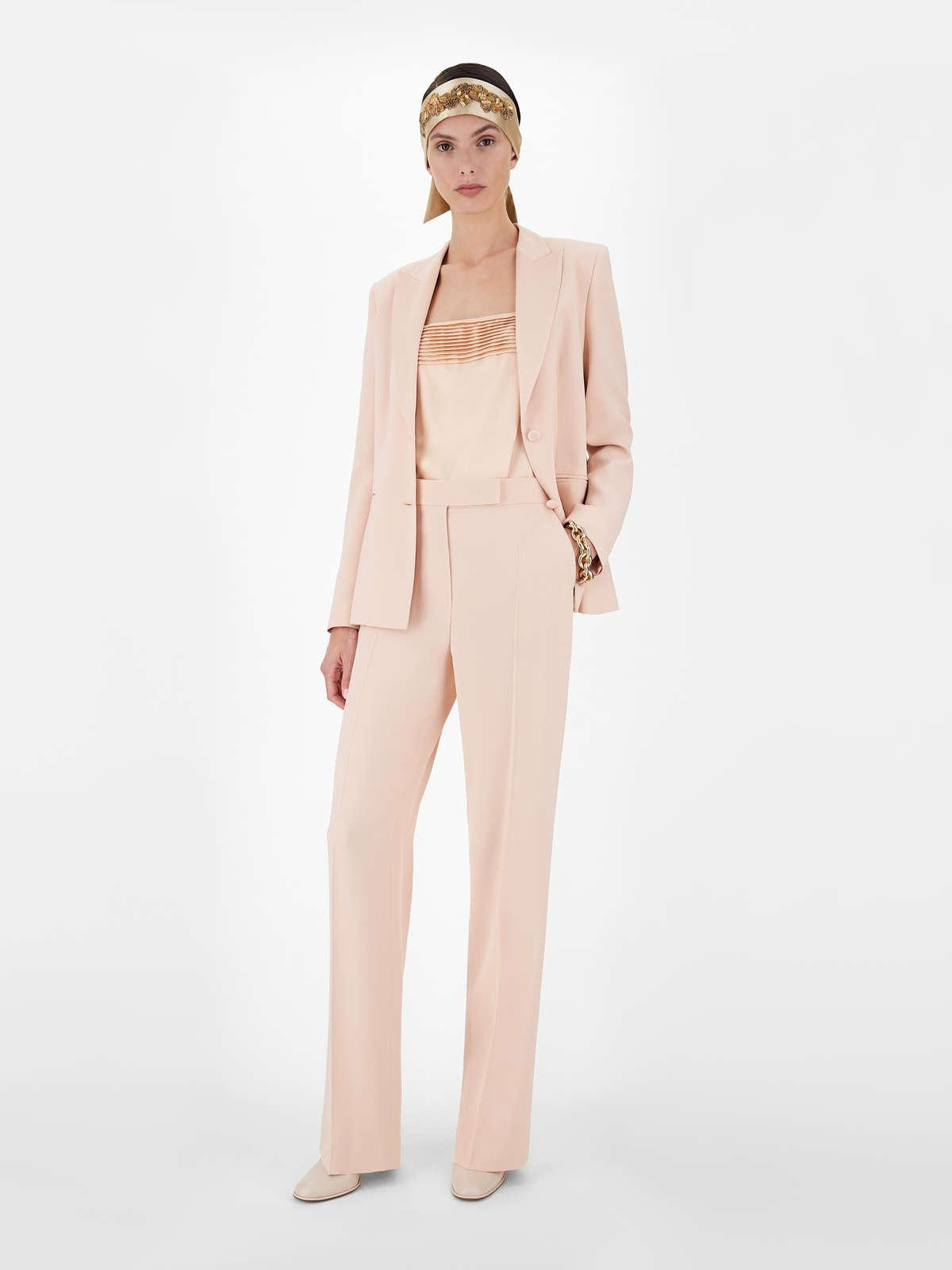 Womens Max Mara Trousers And Jeans | Envers Satin Cigarette Trousers Pink