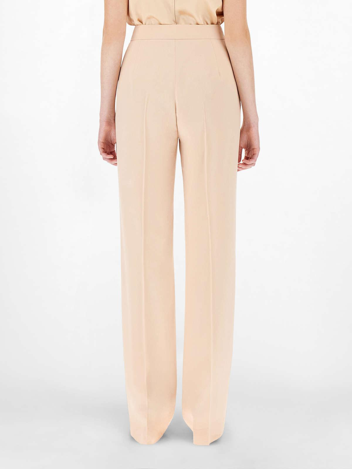 Womens Max Mara Trousers And Jeans   Envers Satin Cigarette Trousers Pink