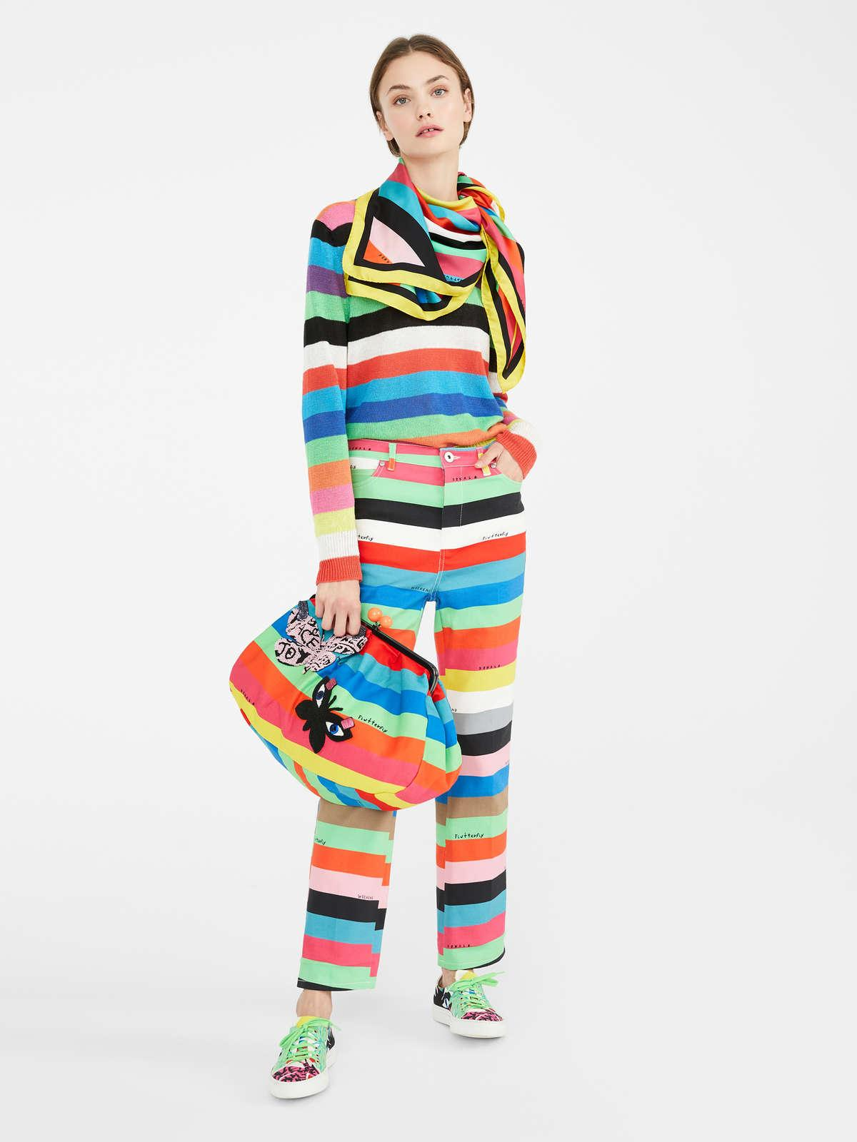Womens Max Mara Trousers And Jeans | Flutterflies  Trousers Multicolour