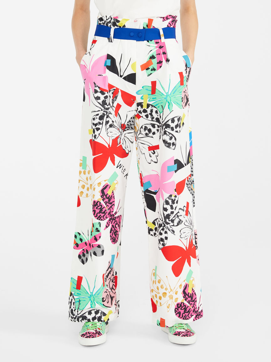 Womens Max Mara Trousers And Jeans | Flutterflies  Trousers White