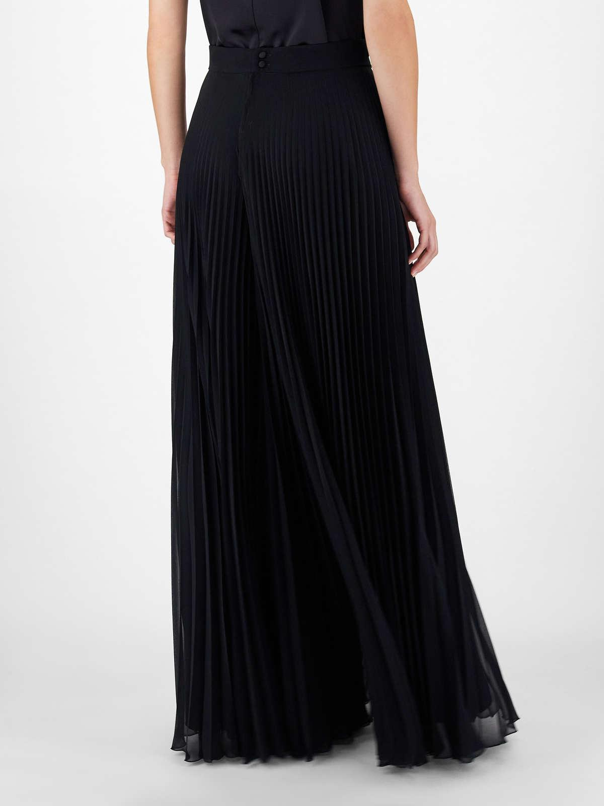 Womens Max Mara Trousers And Jeans | Georgette Sablé Culottes Black