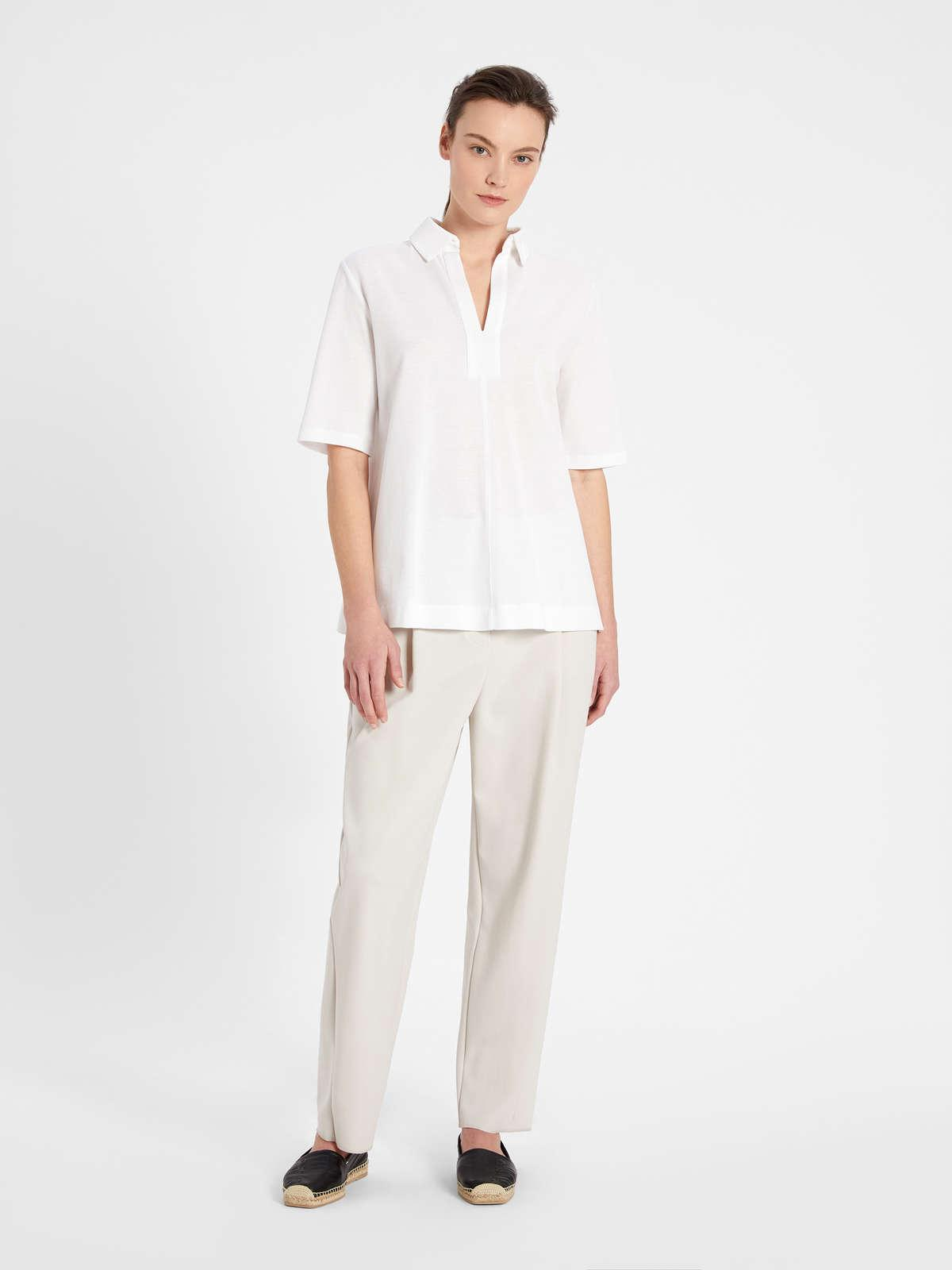 Womens Max Mara Trousers And Jeans | Jersey Trousers Ice