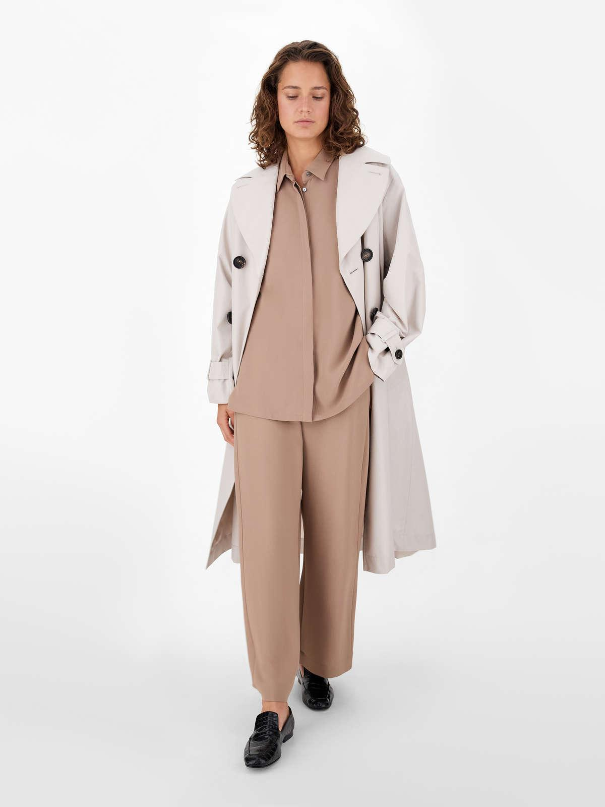 Womens Max Mara Trousers And Jeans | Viscose Cady Trousers Camel