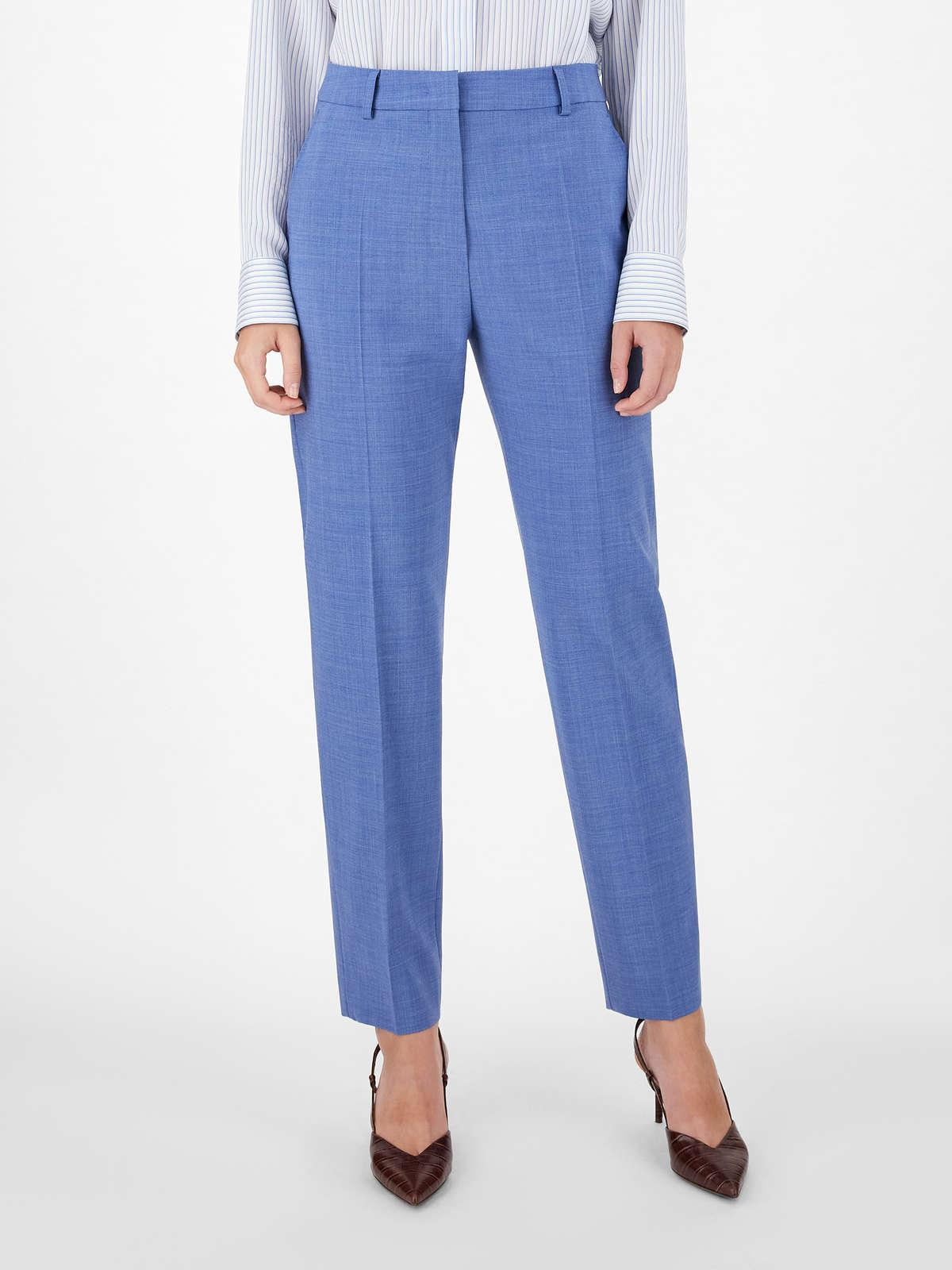 Womens Max Mara Trousers And Jeans   Woollen Cloth Trousers Avio