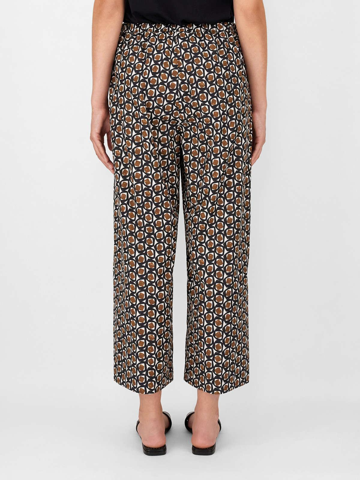 Womens Max Mara Trousers And Jeans | Cotton Poplin Trousers Beige